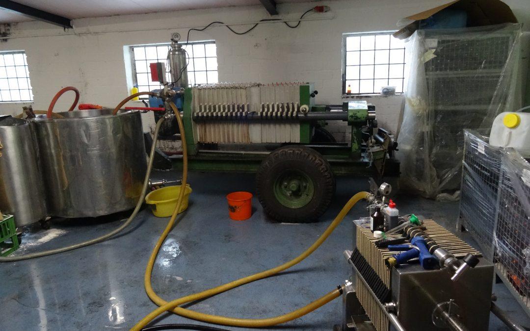 Weinfiltration