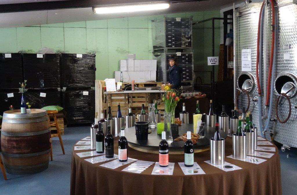 Überwältigender Besuch bei unserer offenen Weinprobe